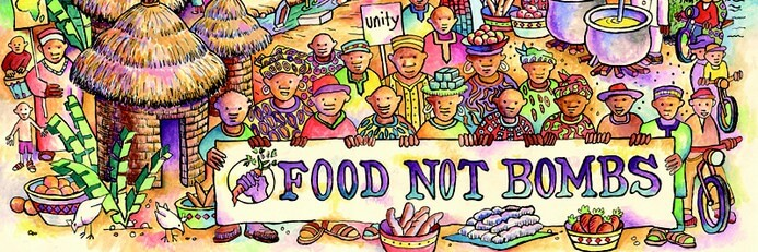 Help save wasted food with Food not Bombs and donate it!